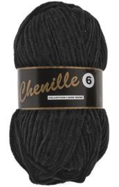 Chenille 6 - Black