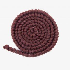 Wol crêpe - Bruin