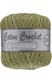 Coton Crochet 10 - Army Green 382
