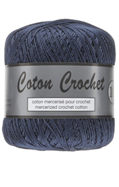 Coton Crochet 10 - Navy Blue 890