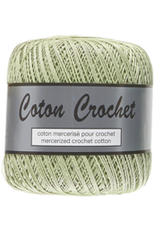 Coton Crochet 10 - Licht Groen 018