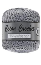 Coton Crochet 10 - Grijs 038