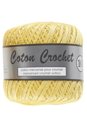 Coton Crochet 10 - Light Yellow 510