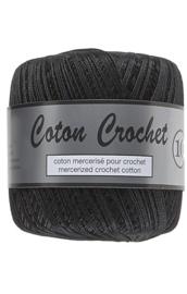Coton Crochet 10 - Zwart 001