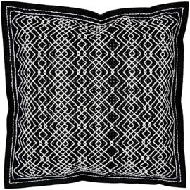 Borduurpakket Zwart/Wit