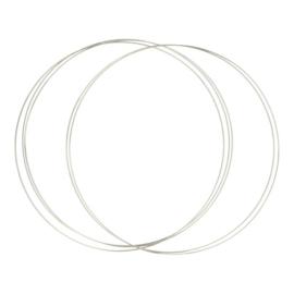 Dromenvanger ring roestvrijstaal 25cm
