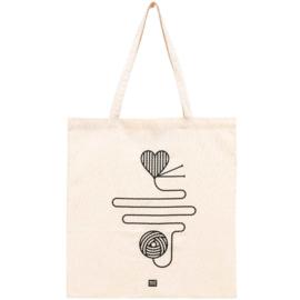 Bag with long handle