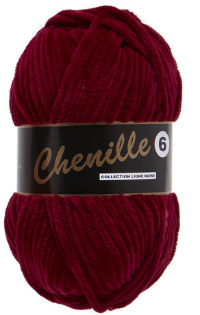 Chenille 6 - Dark Red