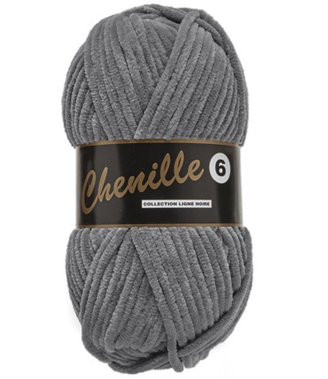 Chenille 6 - Grey
