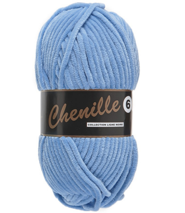 Chenille 6 - Blue