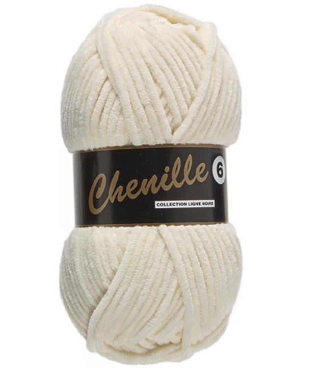Chenille 6 - Cream