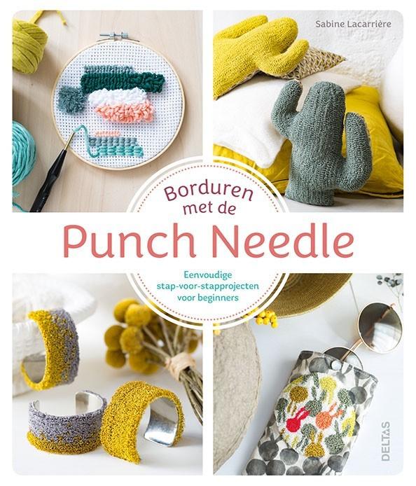 Borduren met de Punche Needle - Sabine Lacarriere