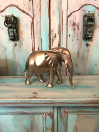 Gouden olifant groot