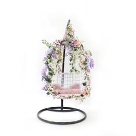 Flower stoel