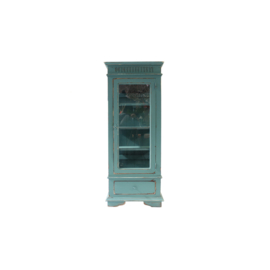 Display case turquoise