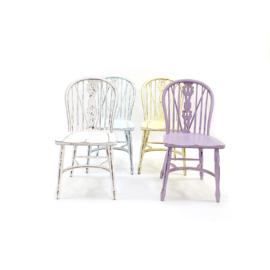 Pastel stoeltjes set