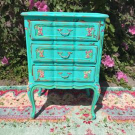 Turquoise kastje