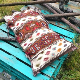 Kelim pillow - Large crème