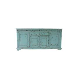 Turquoise dressoir