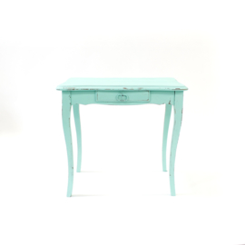 Sidetable turquoise with drawers
