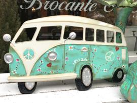 Turquoise Volkswagen bus