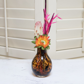 Vase Leopard Small