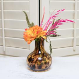 Vase Leopard Medium