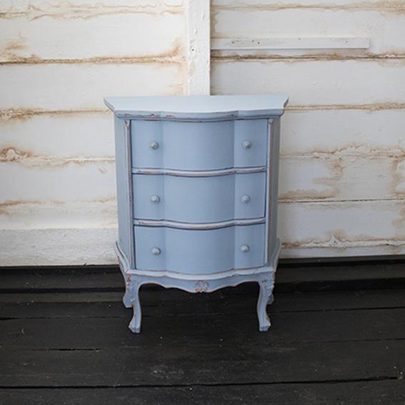 Small blue cabinet