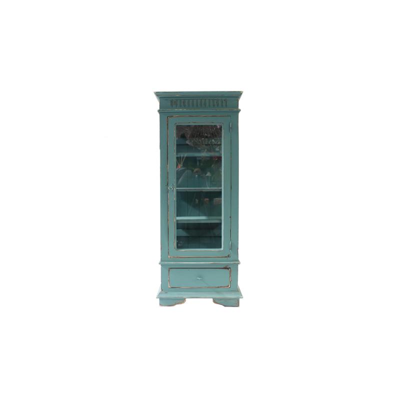 Display case turquoise