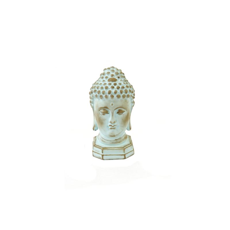 Buddha licht turquoise