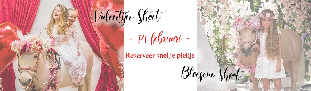 Valentijn en bloesem shoot