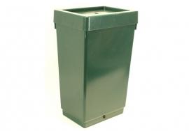 Autopot Watervat vierkant met deksel 47 liter