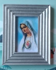 Maria met zilveren lijstje