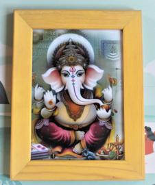 Lijstje met Ganesha