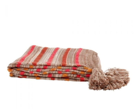 Plaid Throw Tudor Bruin - Imbarro
