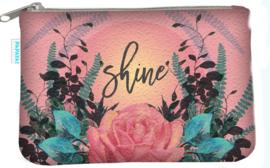 Klein portemonneetje Shine - Papaya Art