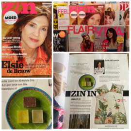 Marokkaanse geurblokjes in Zin Magazine