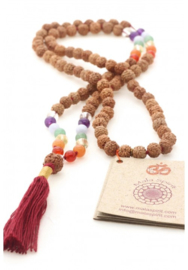 Mala met chakra edelstenen Mala Spirit