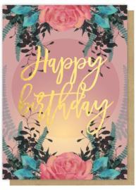 Verjaardagskaart Papaya Art