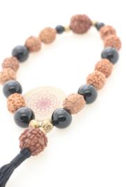 Mala armband met Onyx - Mala Spirit