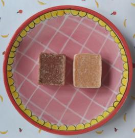 Amber- en Vanilleblokje