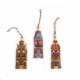 Set hangers huisjes - Imbarro