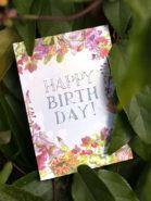 Kleine verjaardagskaart - HBD