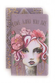 Twee opschrijfboekjes Rose - Papaya Art