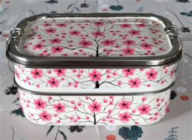 Tweelaagse lunchbox - Kashmir design