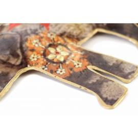Set hangers Indiase olifanten - Cadeau voor India liefhebber