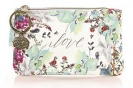 Coin purse Love Floral