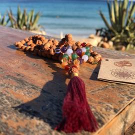 Mala met chakra edelstenen - Mala Spirit