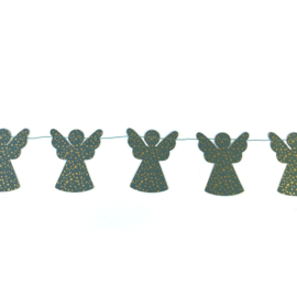 Slinger met groene engeltjes - Imbarro