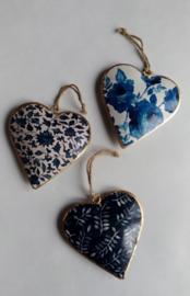 Blauwe Indiase hartjes - Imbarro